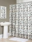 Jot Shower Curtain - Shower Curtains - Bath Linens - Linens & Fabrics | HomeDecorators.com