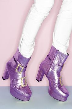 Very edgy and cool Space Grunge Boots with a bit of of grunge.