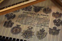 1901 Steinway Model B Grand Piano in Quarter Sawn Oak Fully Rebuilt by Chupp'S…