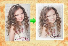 Convert a Photo to a Crayon Drawing by CustomPartyInvites on Etsy, $8.99