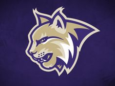 Helsinki Lynx - Primary logo by Daniel Otters Logo Cat, Logo Esport, Bobcat Pictures, Feline Leukemia, Bakery Logo Design, Cat Pose, Photography Logo Design, Typographic Logo, Outdoor Cats