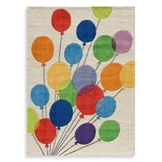MOMENI 'Lil Mo Whimsy LMJ-16 Multi Balloons 5'' x 7'' Area Rug - Bed Bath & Beyond @Ashley LaFranchi