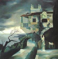 Urbano Lugrís: un surrealista gallego | Título: Recordando mejores tiempos (1944)