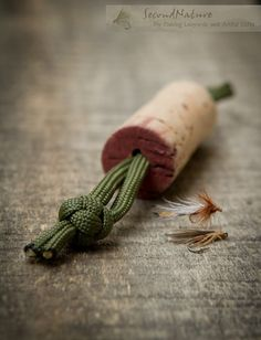 Fly Drying Wine Cork for Fishing Lanyards or Vests by 2econdNature, $2.95