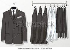 suits hanging Club Monaco, Suit Man, Clothing Displays, Retail Merchandising, Visual Display, Retail Space, Fabric Storage, Retail Design, Store Design
