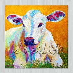 Pop art sheep Pets on canvas modern abstract oil painting handmade oil painting Animal Pop Art