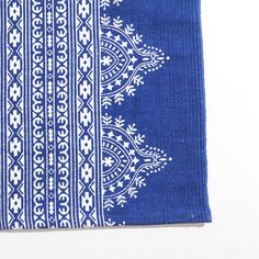 BLUE PRINTED COTTON RUG - Rugs  - Decoration | Zara Home United States of America
