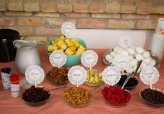 oatmeal bar. Easy, yummy, and pretty way to feed the masses.