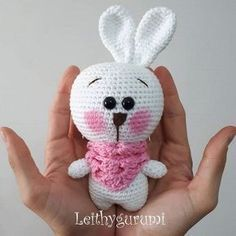 Mesmerizing Crochet an Amigurumi Rabbit Ideas. Lovely Crochet an Amigurumi Rabbit Ideas. Amigurumi Doll Pattern, Crochet Bunny Pattern, Crochet Patterns Amigurumi, Crochet Dolls, Amigurumi Tutorial, Easter Crochet, Cute Crochet, Turkish Pattern, Crochet Hook Set