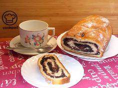 Mákos-meggyes kalács Cake Cookies, French Toast, Cheese, Poppy, Breakfast, Food, Morning Coffee, Essen, Meals