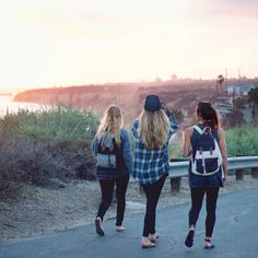 The best way to catch a coastal sunset is with best friends and 'the Brooklyn' #kkioutside