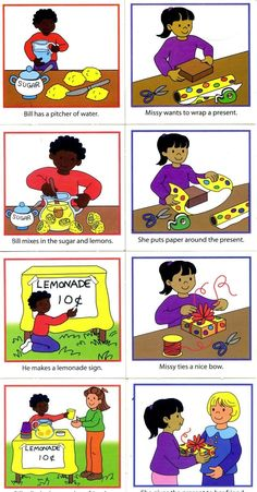 Sequencing Pictures, Sequencing Cards, Story Sequencing, Sequencing Activities, Autism Activities, Vocabulary Activities, Speech Therapy Activities, Speech Language Pathology, Speech And Language