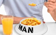 Man Bowl for the man who loves to feed like his dog #odd #unique