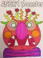 Monster themed activities for boys in grades kindergarten and 1st grade…