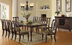 dining room table decor   Dining room, Formal Dining Room Furniture In Firmones Decorations ...
