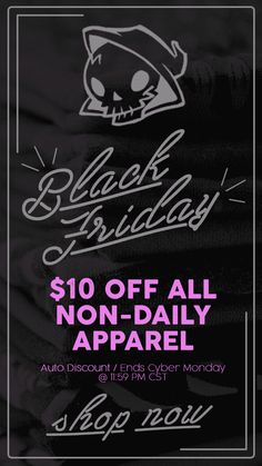 $10 off all Non Daily Tees at RIPT Apparel - www.theshirtlist....