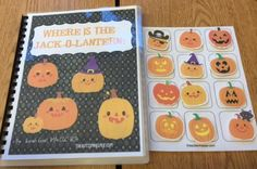 "October adapted book activities with ""Where is the Jack-O-Lantern?"" plus Pumpkin Craft will have your students learning & creating in great ways! 