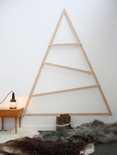 Alternative Xmas tree Ideas 2014 | French By Design blog