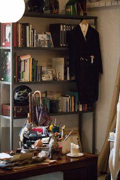 Massimo Alba's showroom in Milan.