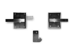 Alta Stainless Steel Contemporary Modern Gate Latch Lever Latch