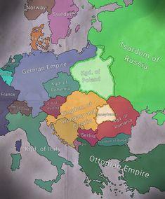 Fantasy Map Generator, Imaginary Maps, Alternate History, Fictional World, Still Image, Sci Fi, Europe, History, Science Fiction