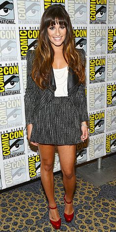 Lea Michele at 2012 Comic-Con