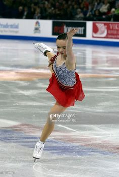 Mariah Bell of the U.S. in the ladies free skate during day two of the Progressive Skate America ISU Grand Prix of Figure Skating on October 24, 2015 in Milwaukee, Wisconsin.