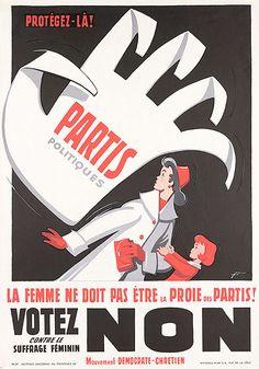 Le suffrage féminin avait été instauré dès 1959 dans certains cantons Suisses. Mais en 1959 le droit de vote leur était refusé ....