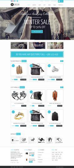 Best eCommerce WordPress Themes Collection | by WordPress Awards #web #design #eshop
