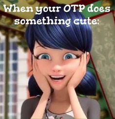 OTP doing something cute