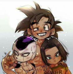 Freezer, Androide 17 & Goku