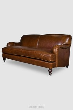 tightback english rollarm sofas armchairs basel from roger chris - Leather Sofa