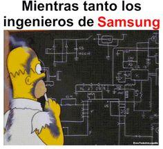 Meme sobre Galaxy Note 7