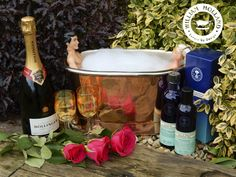 Win a mini copper bath hamper! Follow the link to enter! Copper Bath, Mini Copper, Bollinger Champagne, Family History Book, Yard Party, Chocolate Party, Giveaway, Competition, Fun Ideas