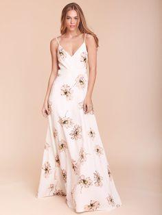Sian Floral Maxi Dress