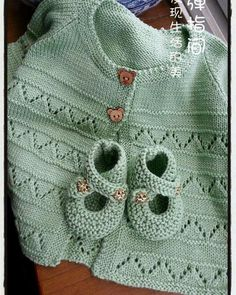 Embroidered Baby Vest Making - Knitting Baby Sweater Patterns, Baby Cardigan Knitting Pattern, Knit Baby Sweaters, Knitted Baby Clothes, Baby Knitting Patterns, Baby Patterns, Knitting Sweaters, Knit Baby Dress, Baby Knits