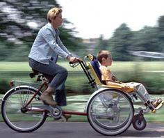 The Go Anywhere Wheelchair Bicycle Tandem: the duet. I want one of these soooo bad.