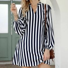 African Fashion Dresses, Fashion Outfits, Jeans Fashion, Casual Dresses, Short Dresses, Mini Dresses, Dresses With Sleeves, Women's Dresses, Types Of Sleeves