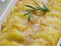 Cozinha Fácil: Batata com Cebolas ao Forno
