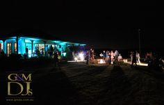 Teal outdoor wedding lighting at Spicers Hidden Vale, Grandchester   G&M DJs   Magnifique Weddings #gmdjs #magnifiqueweddings #weddinglighting #spicershiddenvale @gmdjs