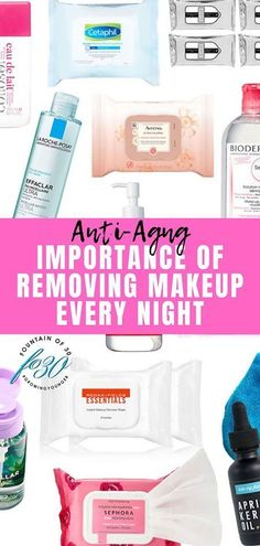 Removing makeup every night is crutial or it causes significant damage to your skin. Here are the best makeup remover wipes and micellar cleansing waters. Lots Of Makeup, Makeup Tips, Home Design, Best Makeup Remover Wipes, Makeup Removers, Beauty Routine Planner, Kajal, Oil Free Makeup, Night Makeup