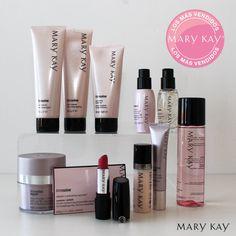 ¡Los más vendidos Mary Kay! Estos son los productos estrella de la primera mitad del año. ¿Cuáles tienes en tu neceser? #belleza #topventas