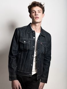 Fresh faced Will Mortelle represented by Re:Quest Models in New York builds up his portfolio with a recent Debut in Denim story lensed by fashion photographer Richard Gerst.