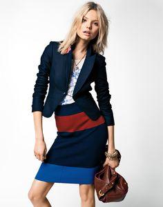 ' użytkownika Michaela Z. Fall Lookbook, Fashion Lookbook, Couture Perfume, Toni Garrn, Valentino Couture, Career Wear, Cute Skirts, Fast Fashion, Couture Fashion