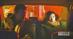 ↑廖凡(左)、桂綸鎂主演的《白日焰火》,在冰冷東北中有著熱烈的情慾。