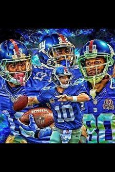 Eli, Cruz, Randle & Beckham Jr. - #NYG