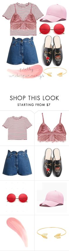 """""""MAKE EVERYONE LOOK AT YOU this summer"""" by divasfashion4 ❤ liked on Polyvore featuring Humble Chic, Valentino, Gucci and Lord & Taylor"""
