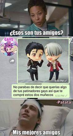 Anime Meme, Otaku Anime, Anime Art, Yuri On Ice, Bts Memes, Funny Memes, Bishounen, Diabolik Lovers, Fujoshi