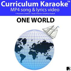 'ONE WORLD' (Grades K-7) ~ Curriculum Song Video Classroom Whiteboard, Similarities And Differences, Song Play, Home Learning, Student Reading, Student Engagement, Teaching Music, In Writing, First World