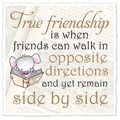 Tag a true friend! Check out our range of Little church mouse gifts, all come with FREE worldwide delivery! http://charliebitme.co.uk/collections/little-church-mouse/products/little-church-mouse-true-friendship-mug